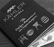 Folder til Kähler i Tivoli